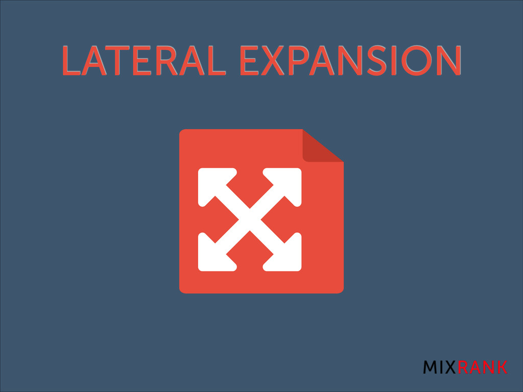 LATERAL EXPANSION
