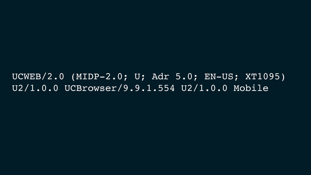 UCWEB/2.0 (MIDP-2.0; U; Adr 5.0; EN-US; XT1095)...