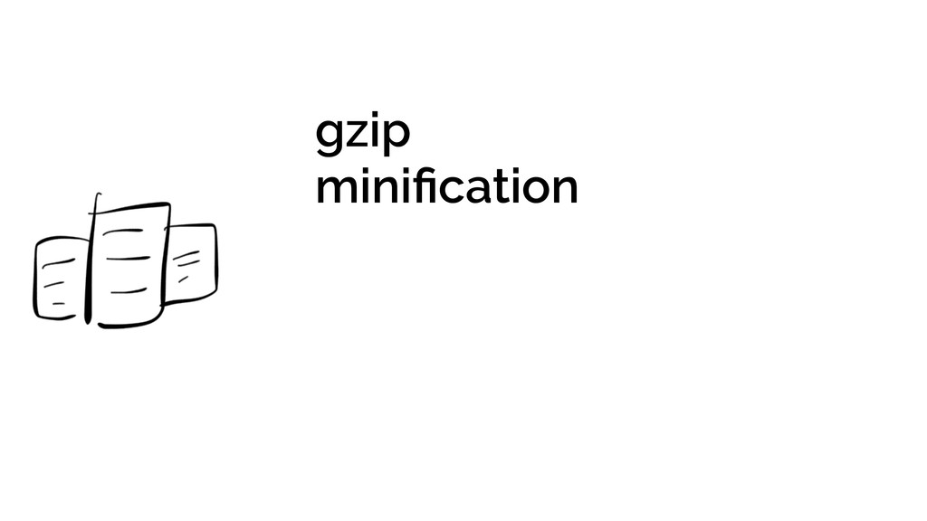 gzip minification