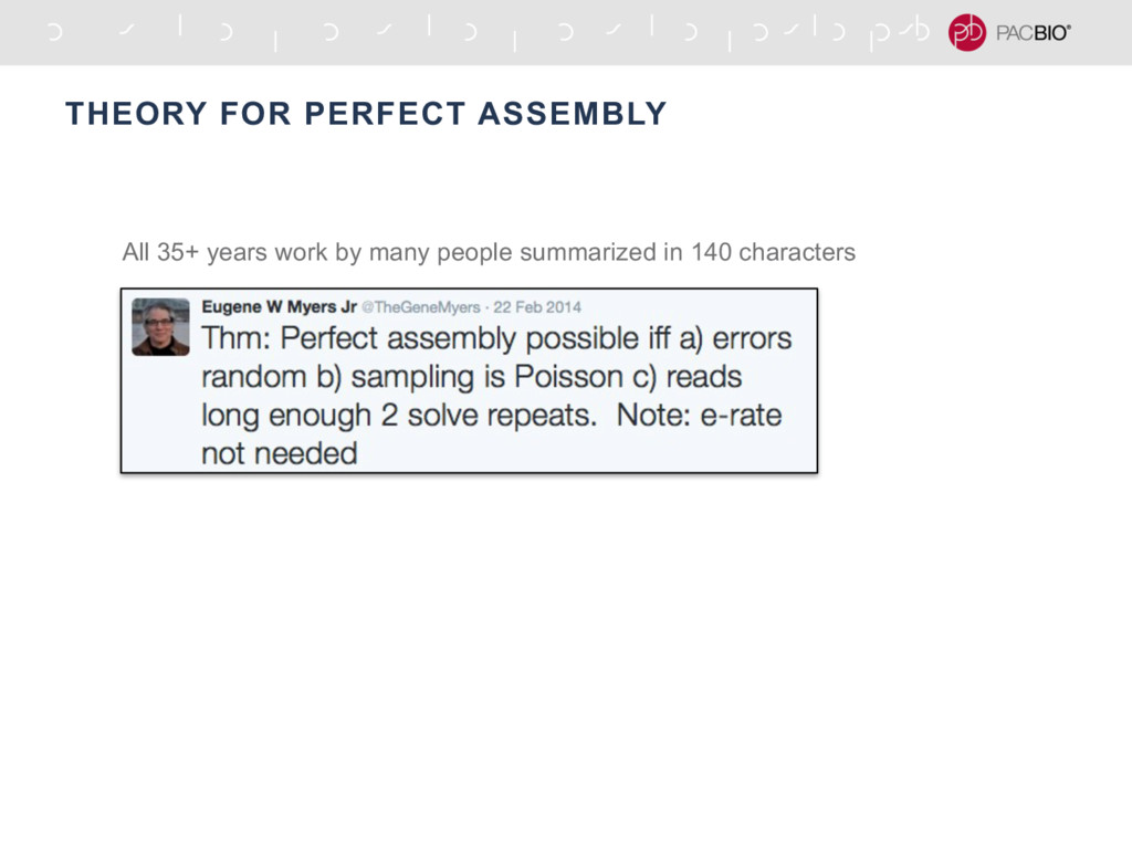 THEORY FOR PERFECT ASSEMBLY All 35+ years work ...