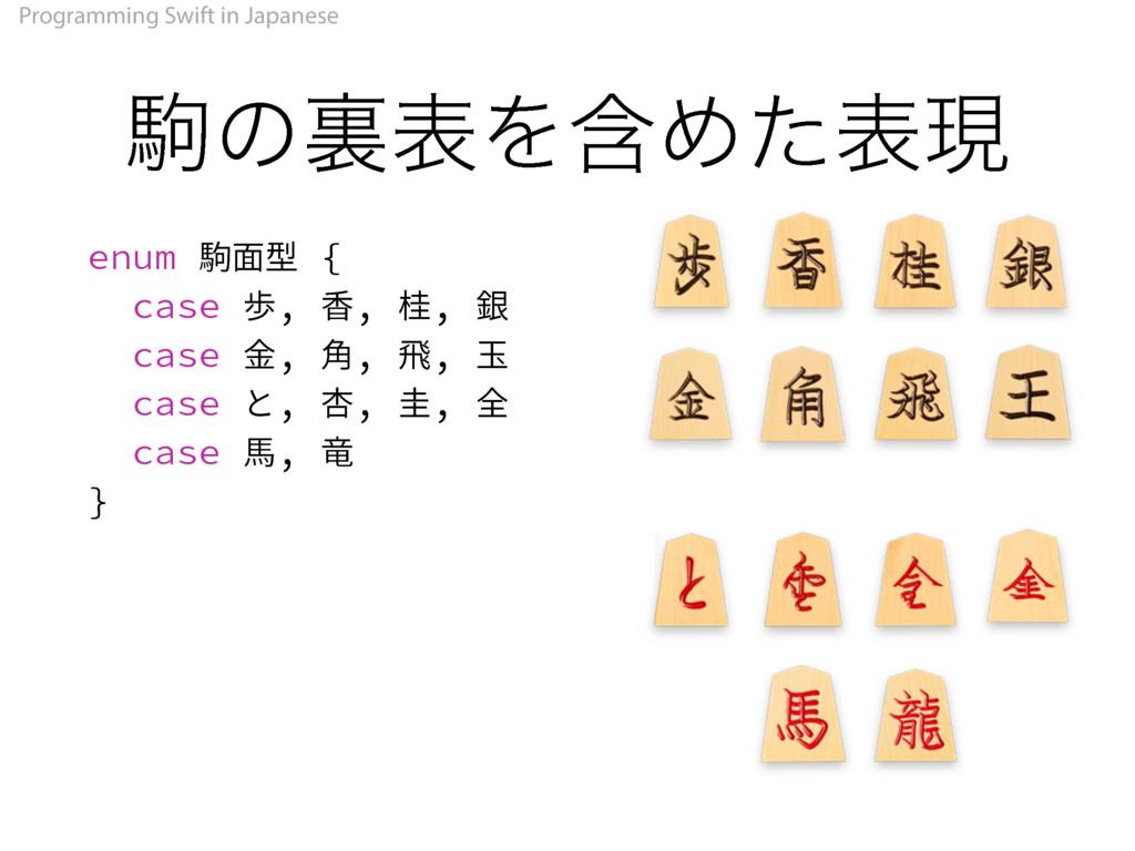 Programming Swift in Japanese ۨͷཪදΛؚΊͨදݱ FOVN㞳...