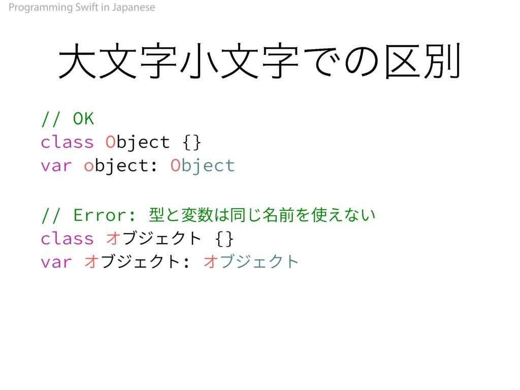 Programming Swift in Japanese େจখจͰͷ۠ผ 0,...