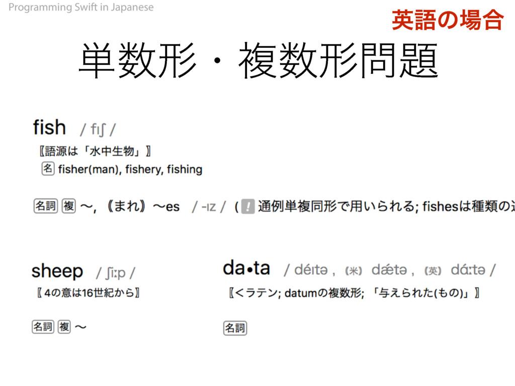 Programming Swift in Japanese ୯ܗɾෳܗ ӳޠͷ߹