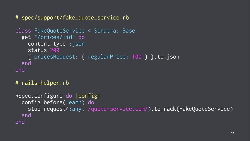 # spec/support/fake_quote_service.rb class Fake...