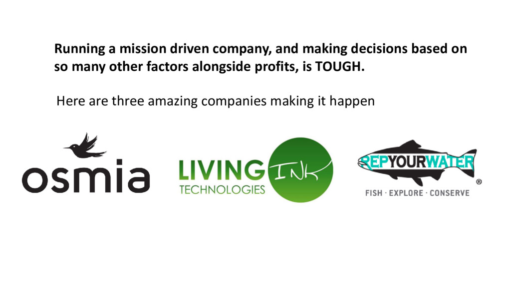 Here are three amazing companies making it happ...