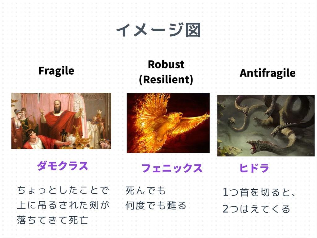 ダモクラス フェニックス ヒドラ Fragile Robust (Resilient) Ant...