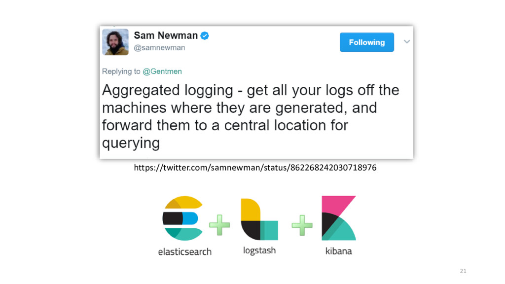 21 https://twitter.com/samnewman/status/8622682...