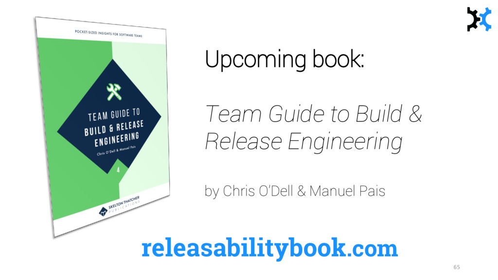 releasabilitybook.com Upcoming book: Team Guide...