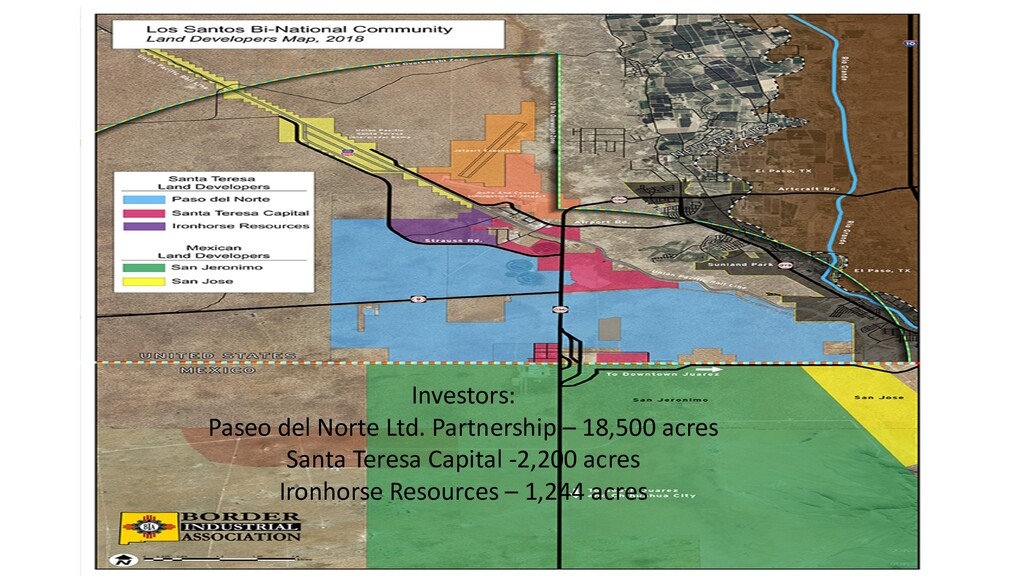 Investors: Paseo del Norte Ltd. Partnership – 1...