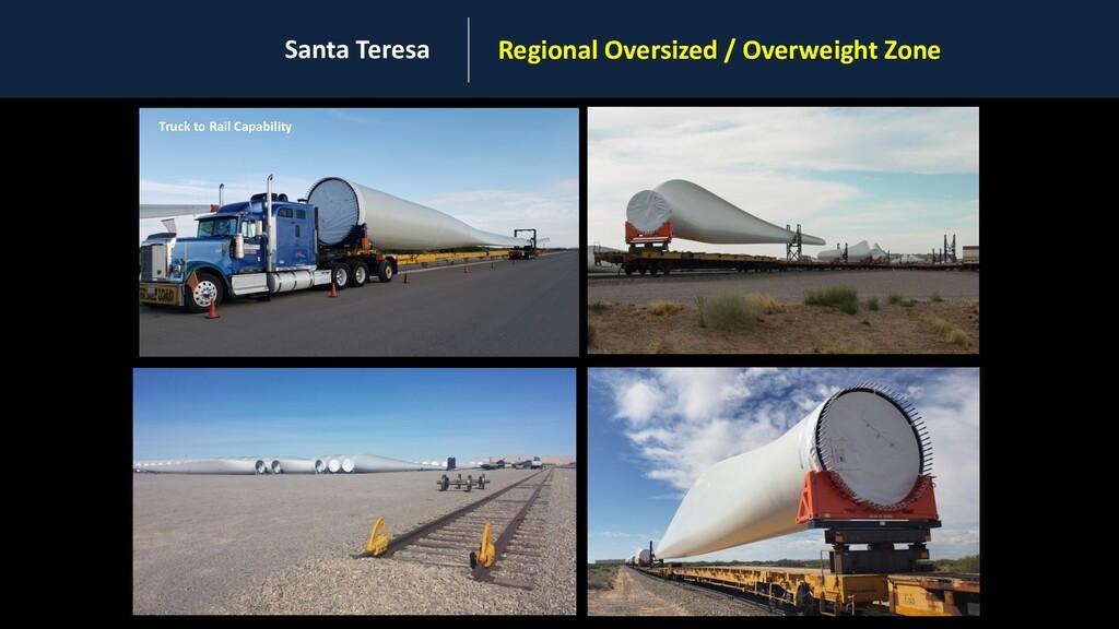 Santa Teresa Regional Oversized / Overweight Zo...