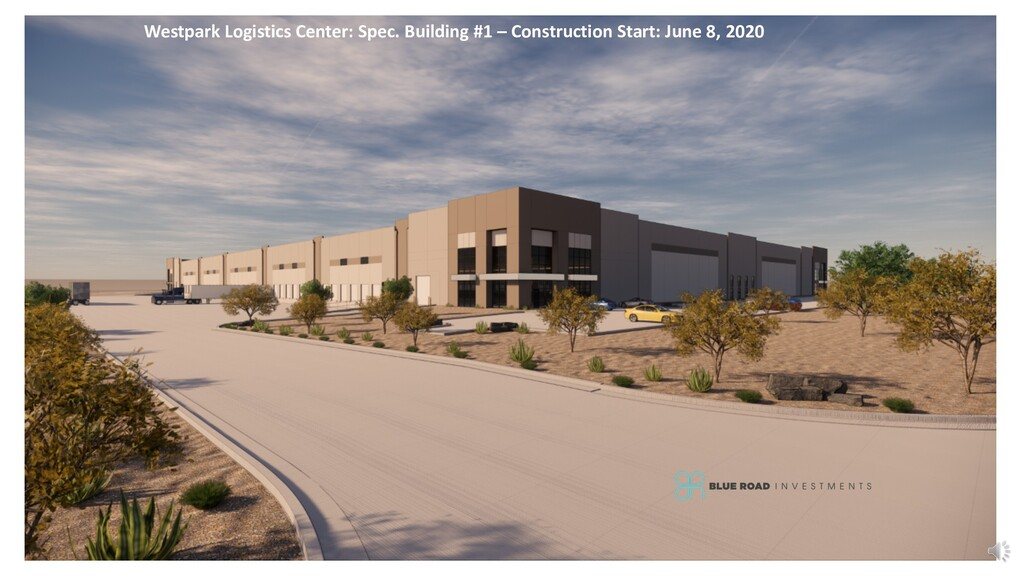 Westpark Logistics Center: Spec. Building #1 – ...