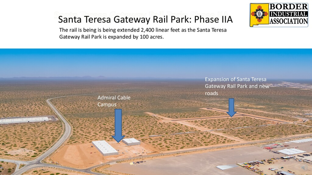 Santa Teresa Gateway Rail Park: Phase IIA The r...