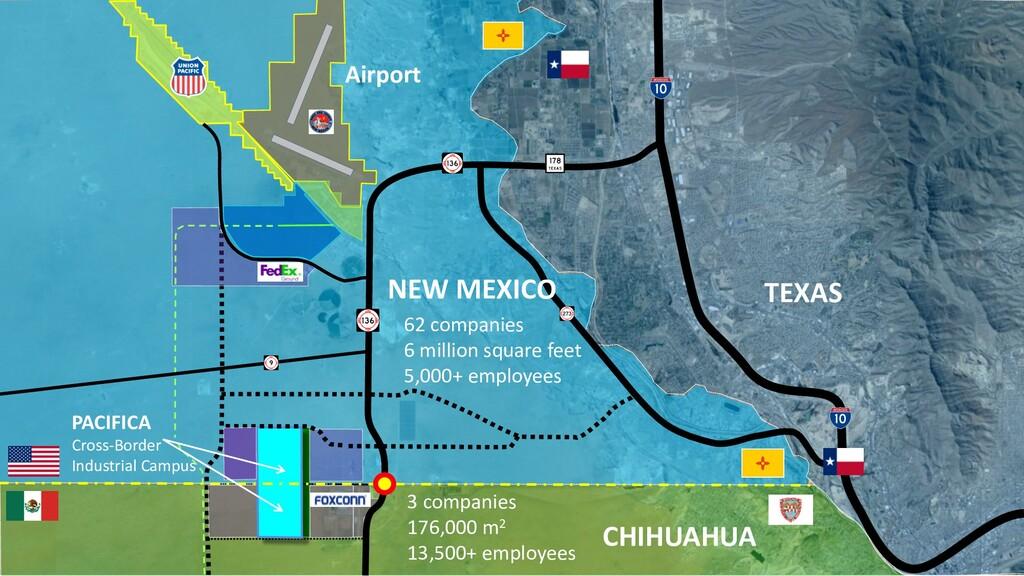 CHIHUAHUA TEXAS 3 companies 176,000 m2 13,500+ ...