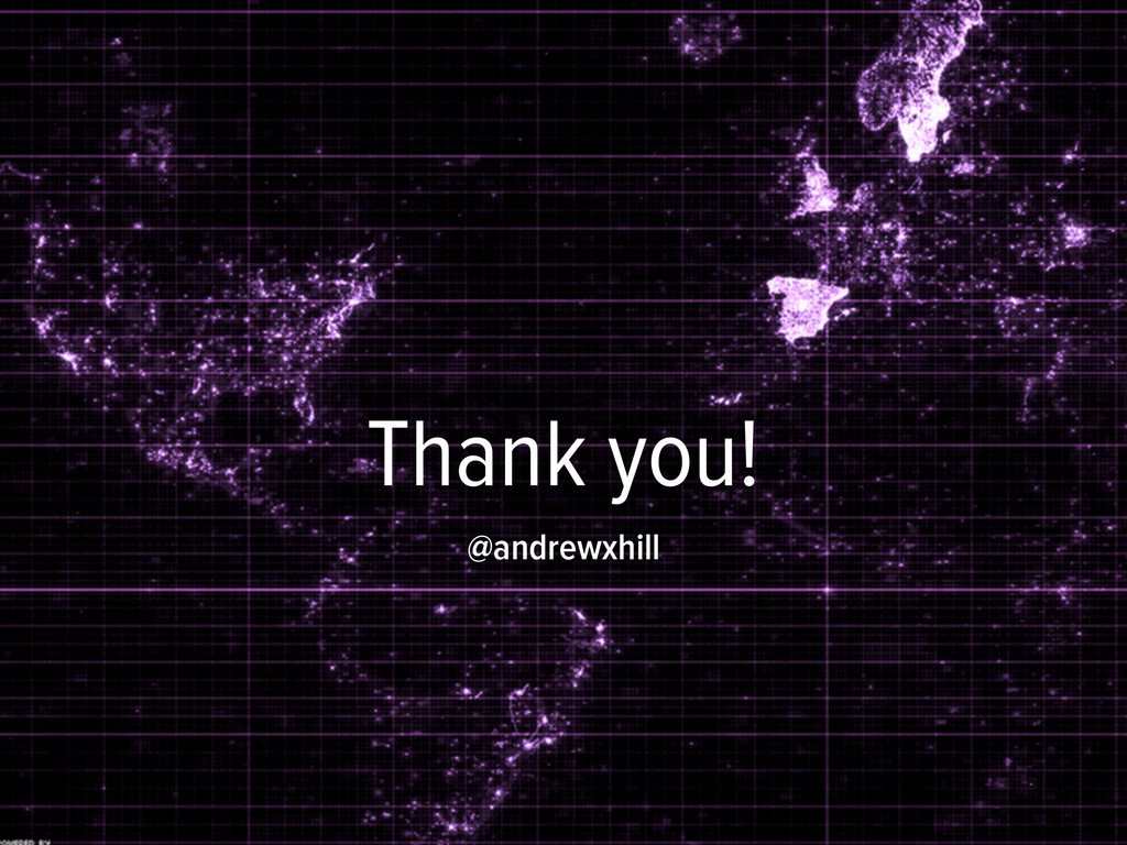 Thank you! @andrewxhill