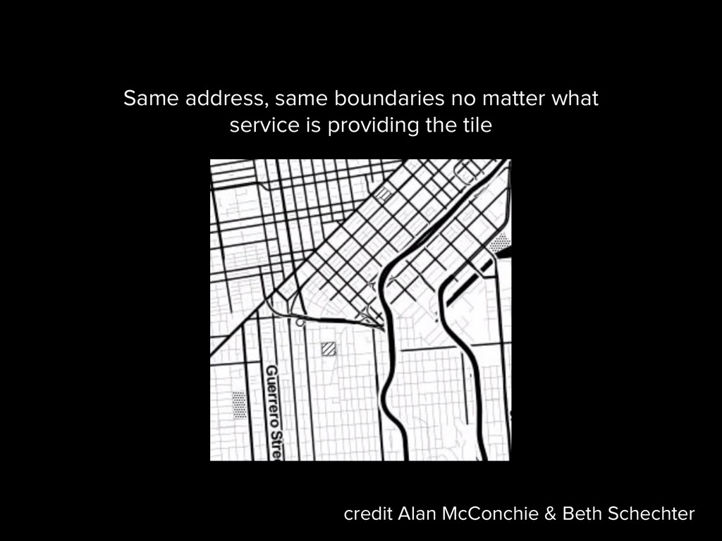 Same address, same boundaries no matter what se...