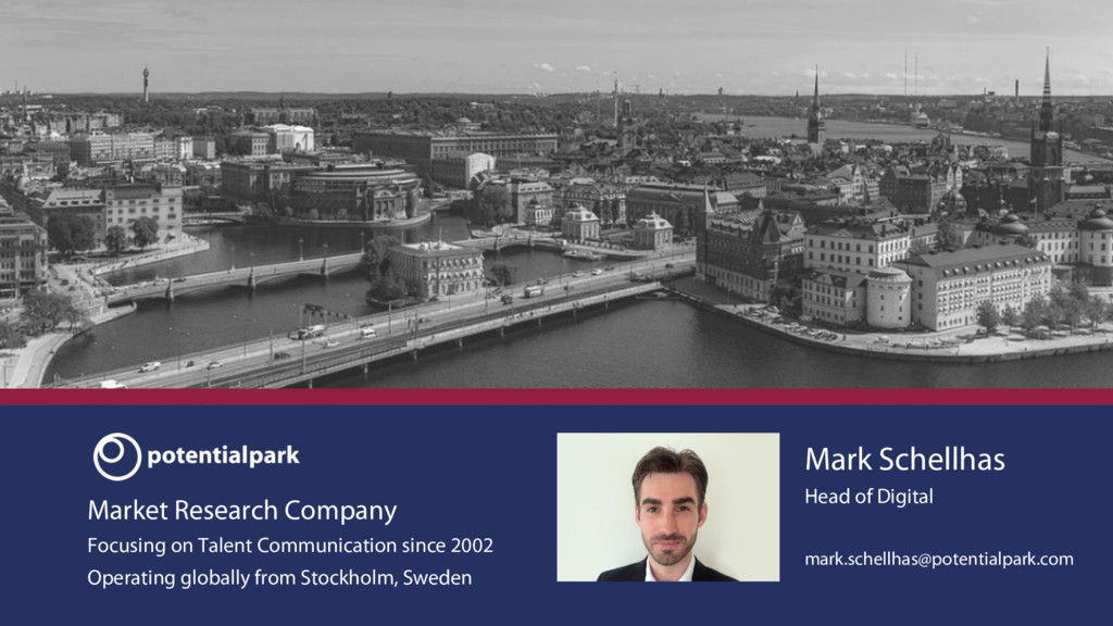 Market Research Company Focusing on Talent Comm...