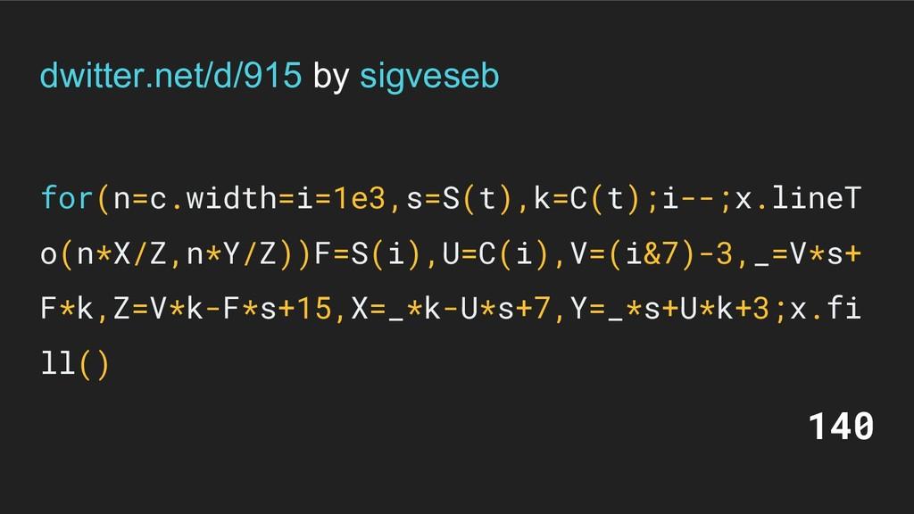 dwitter.net/d/915 by sigveseb for(n=c.width=i=1...