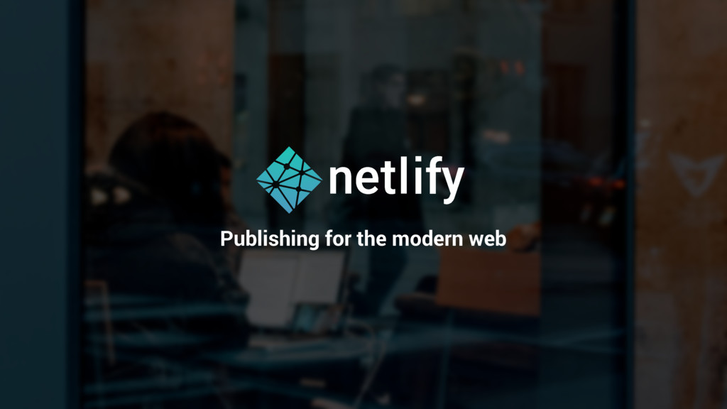 Publishing for the modern web