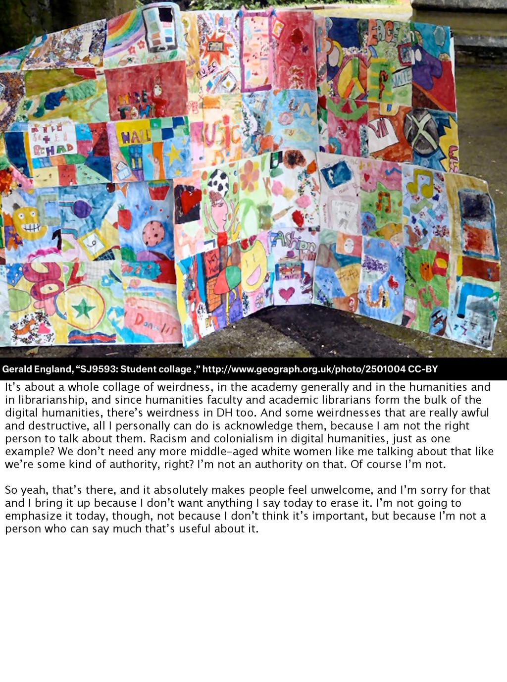 "Gerald England, ""SJ9593: Student collage ,"" htt..."