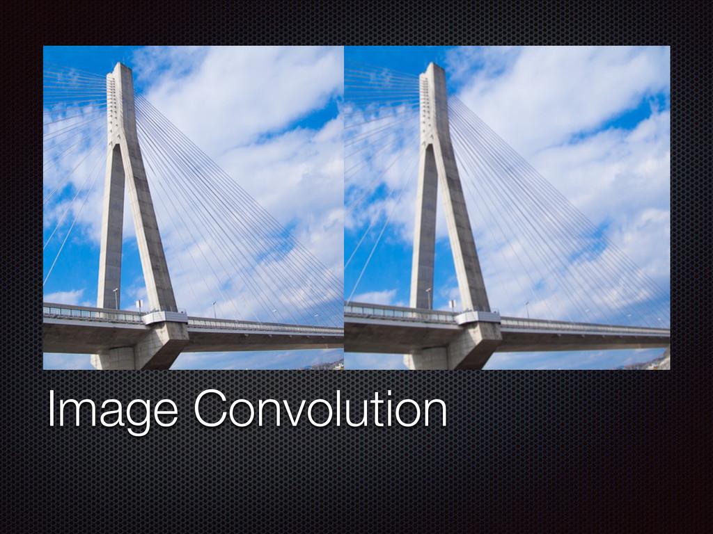 Text Image Convolution