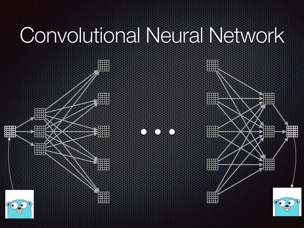 … Convolutional Neural Network