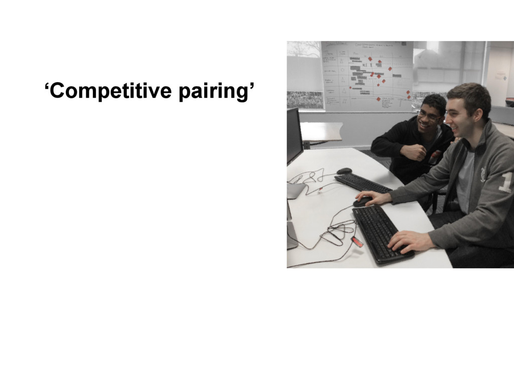 'Competitive pairing'