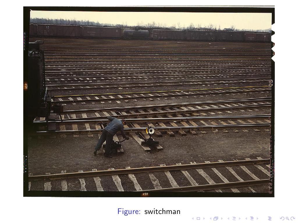 Figure: switchman