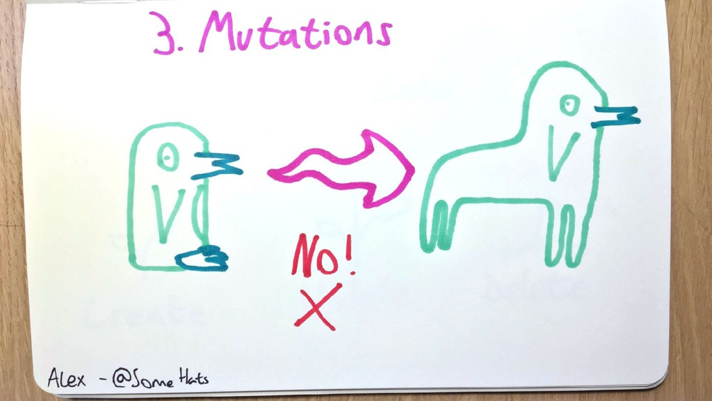 Mutations Not penguins turning into penguin hor...