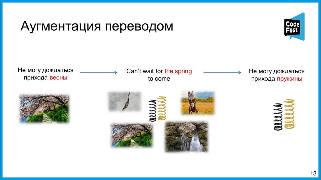 Аугментация переводом 13 Can't wait for the spr...