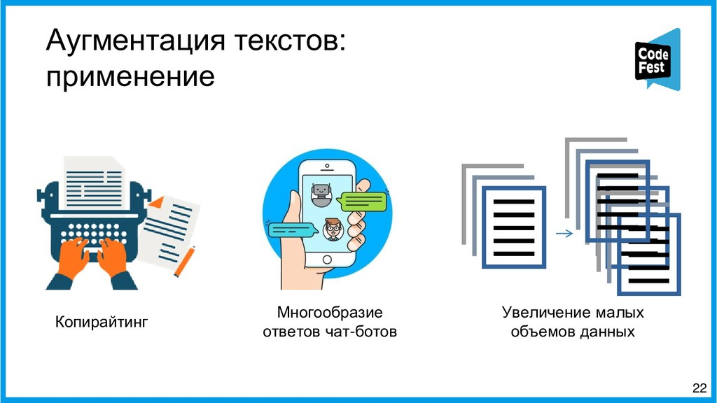 Аугментация текстов: применение 22 Копирайтинг ...