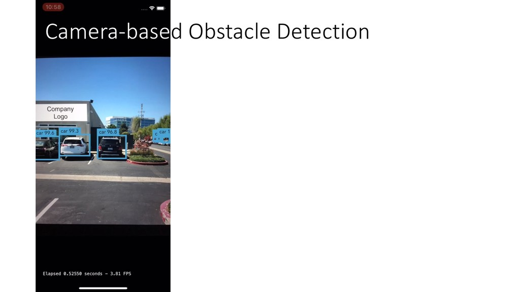 Camera-based Obstacle Detection