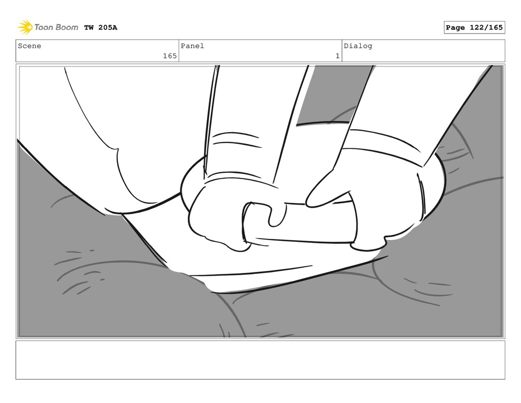 Scene 165 Panel 1 Dialog TW 205A Page 122/165