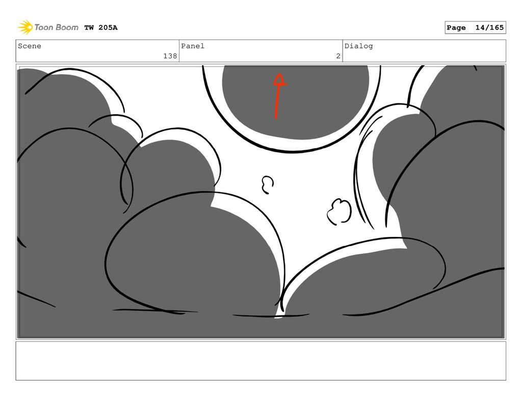 Scene 138 Panel 2 Dialog TW 205A Page 14/165