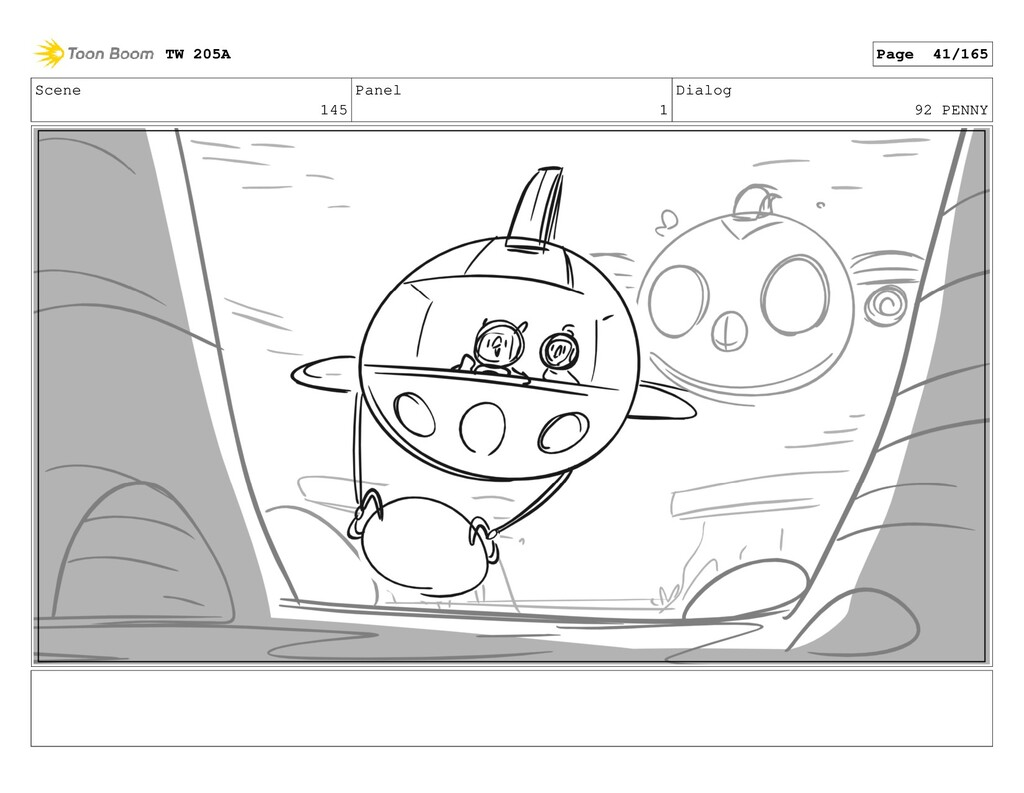 Scene 145 Panel 1 Dialog 92 PENNY TW 205A Page ...