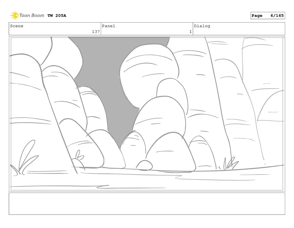 Scene 137 Panel 1 Dialog TW 205A Page 6/165