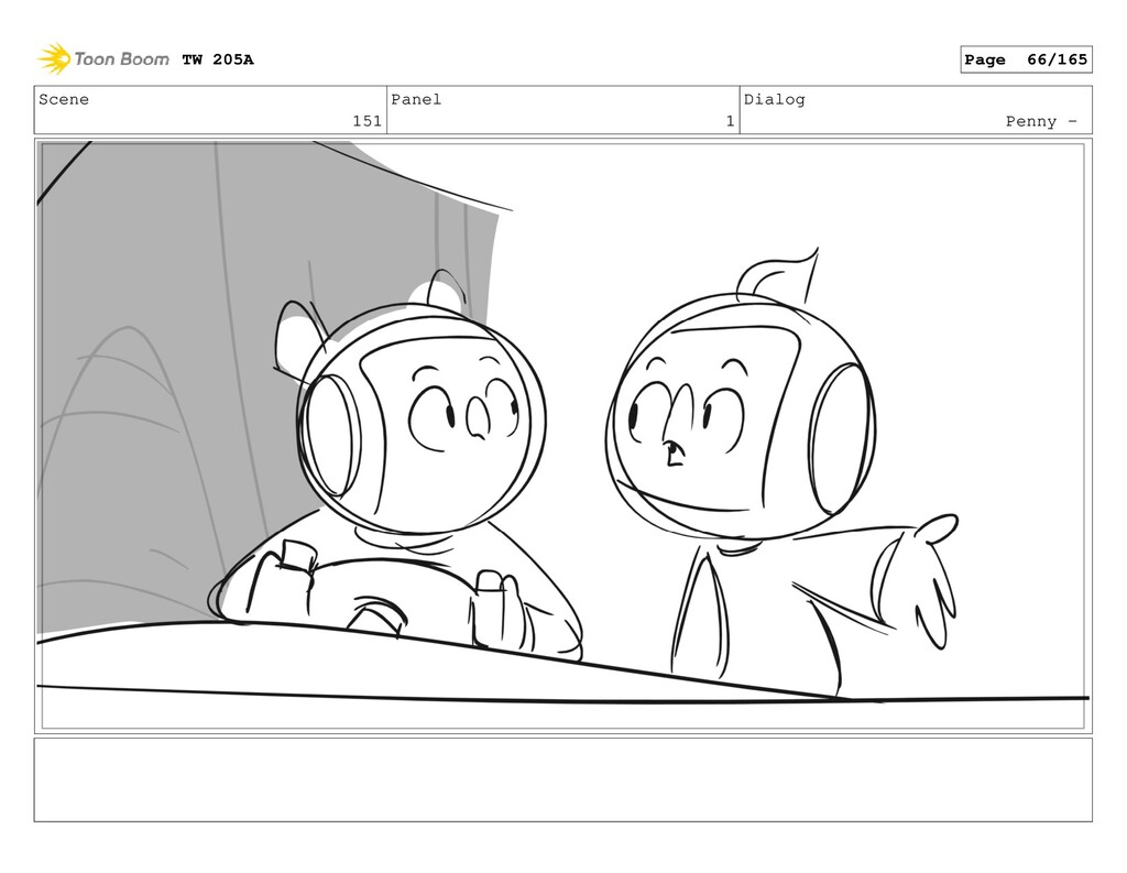 Scene 151 Panel 1 Dialog Penny - TW 205A Page 6...
