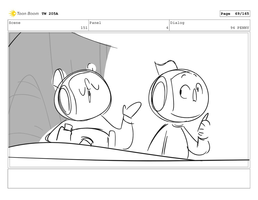 Scene 151 Panel 4 Dialog 94 PENNY TW 205A Page ...