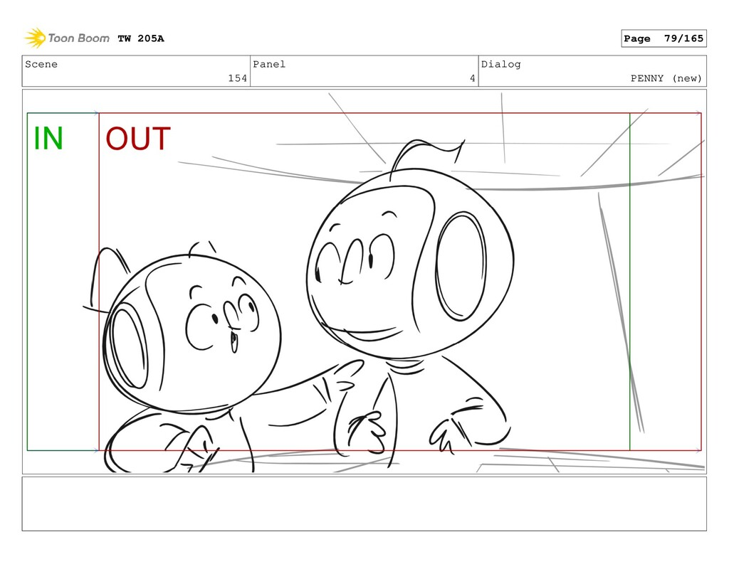 Scene 154 Panel 4 Dialog PENNY (new) TW 205A Pa...