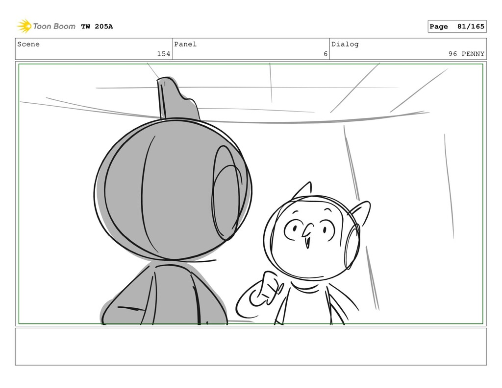 Scene 154 Panel 6 Dialog 96 PENNY TW 205A Page ...