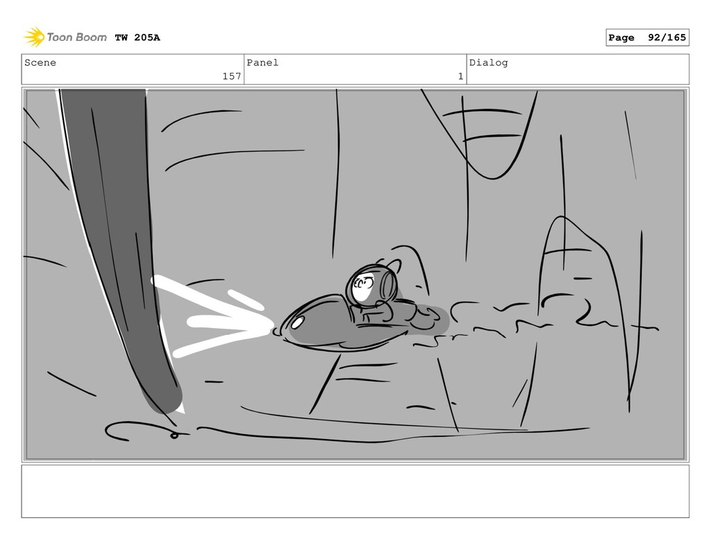 Scene 157 Panel 1 Dialog TW 205A Page 92/165