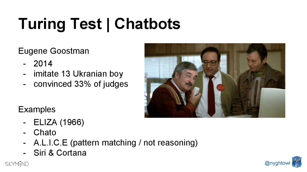 Turing Test | Chatbots Eugene Goostman - 2014 -...