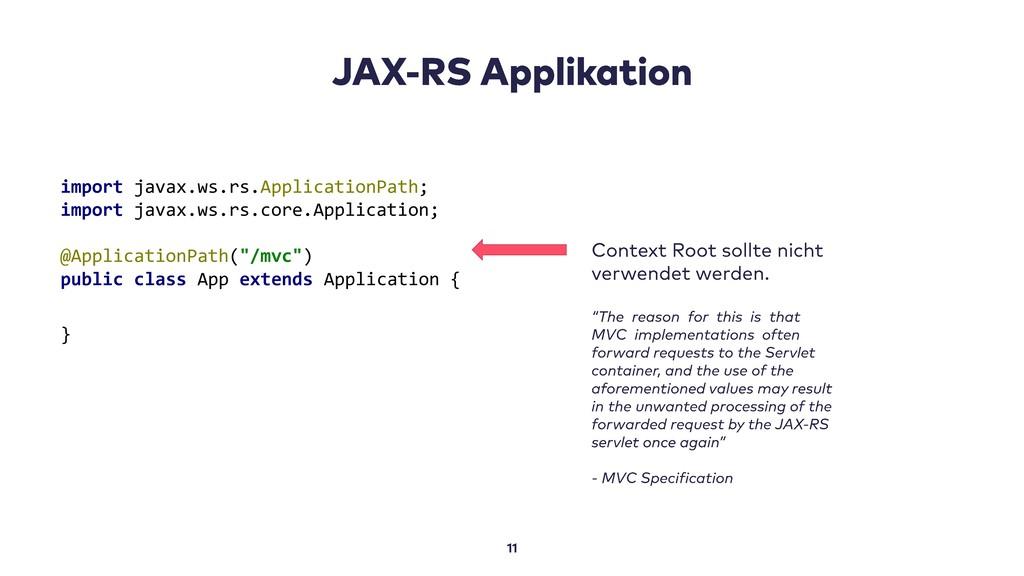 import javax.ws.rs.ApplicationPath; import java...