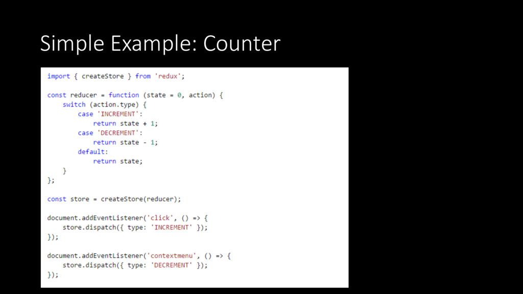 Simple Example: Counter
