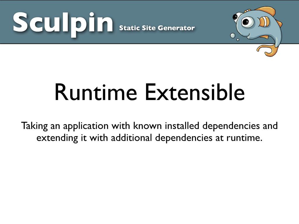 Sculpin Static Site Generator Runtime Extensibl...