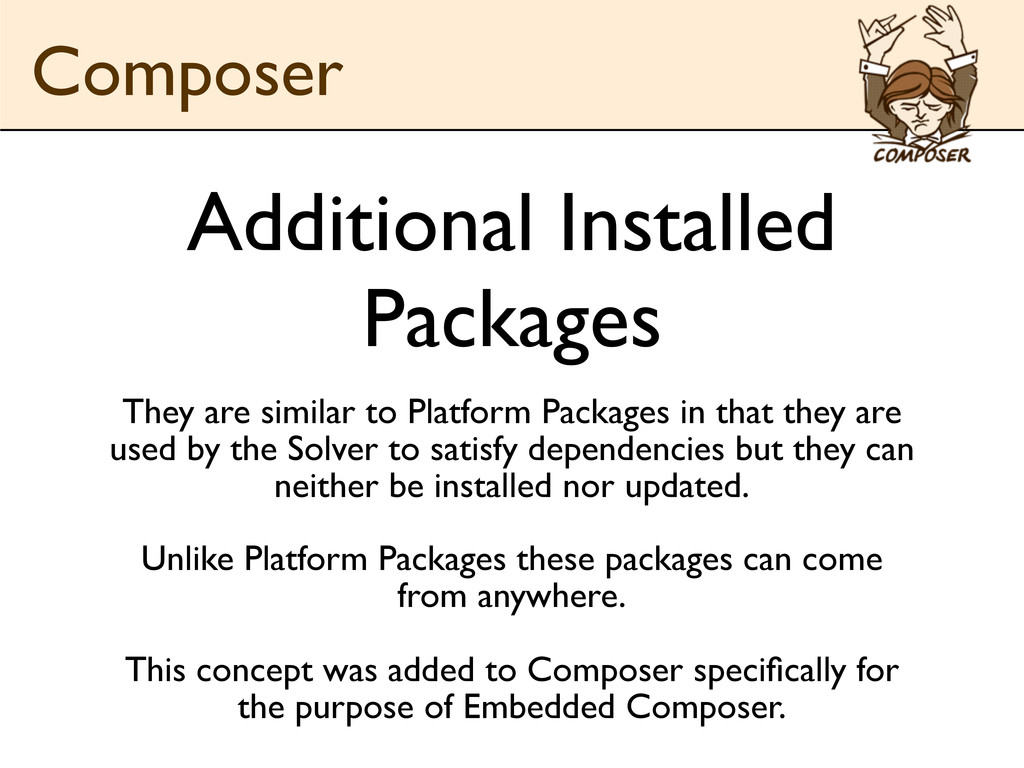 Additional Installed Packages They are similar ...