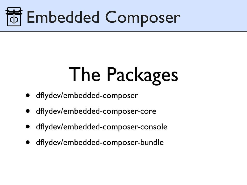 • dflydev/embedded-composer • dflydev/embedded-co...
