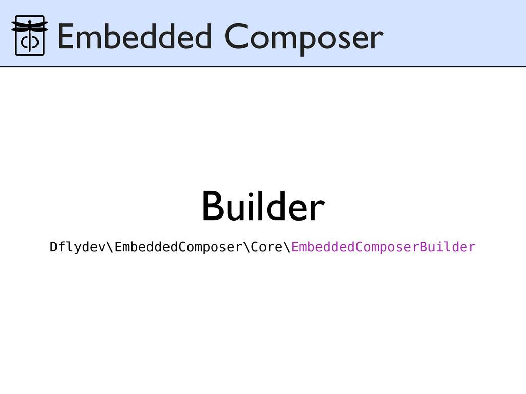 Builder Embedded Composer Dflydev\EmbeddedCompo...