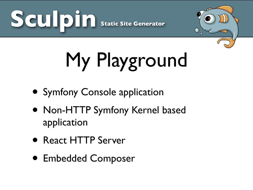 Sculpin Static Site Generator • Symfony Console...