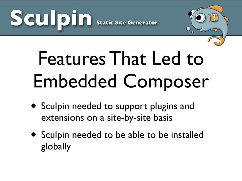Sculpin Static Site Generator • Sculpin needed ...