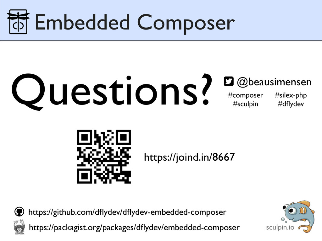 Embedded Composer https://github.com/dflydev/dfly...